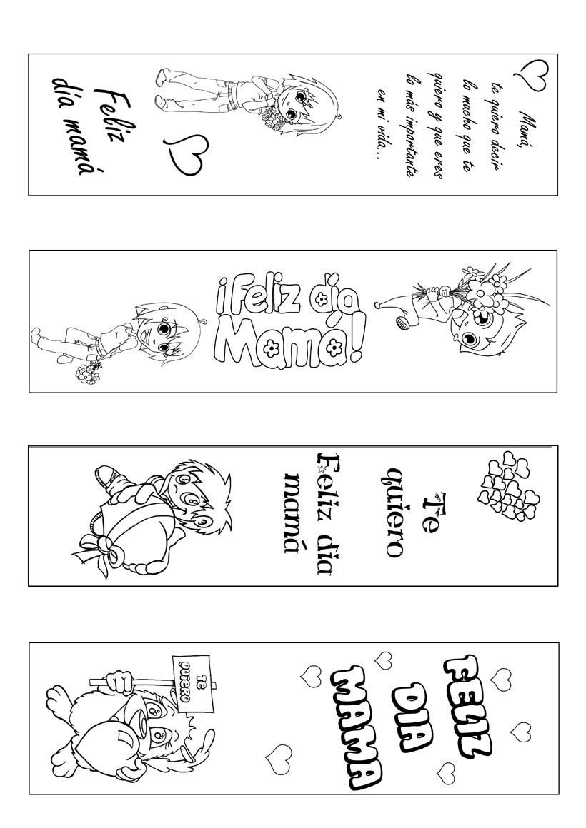 marcapaginas-colorear-dia-madre-source_bvu   Ideas Para la Clase.com