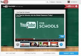 youtube para escuelas